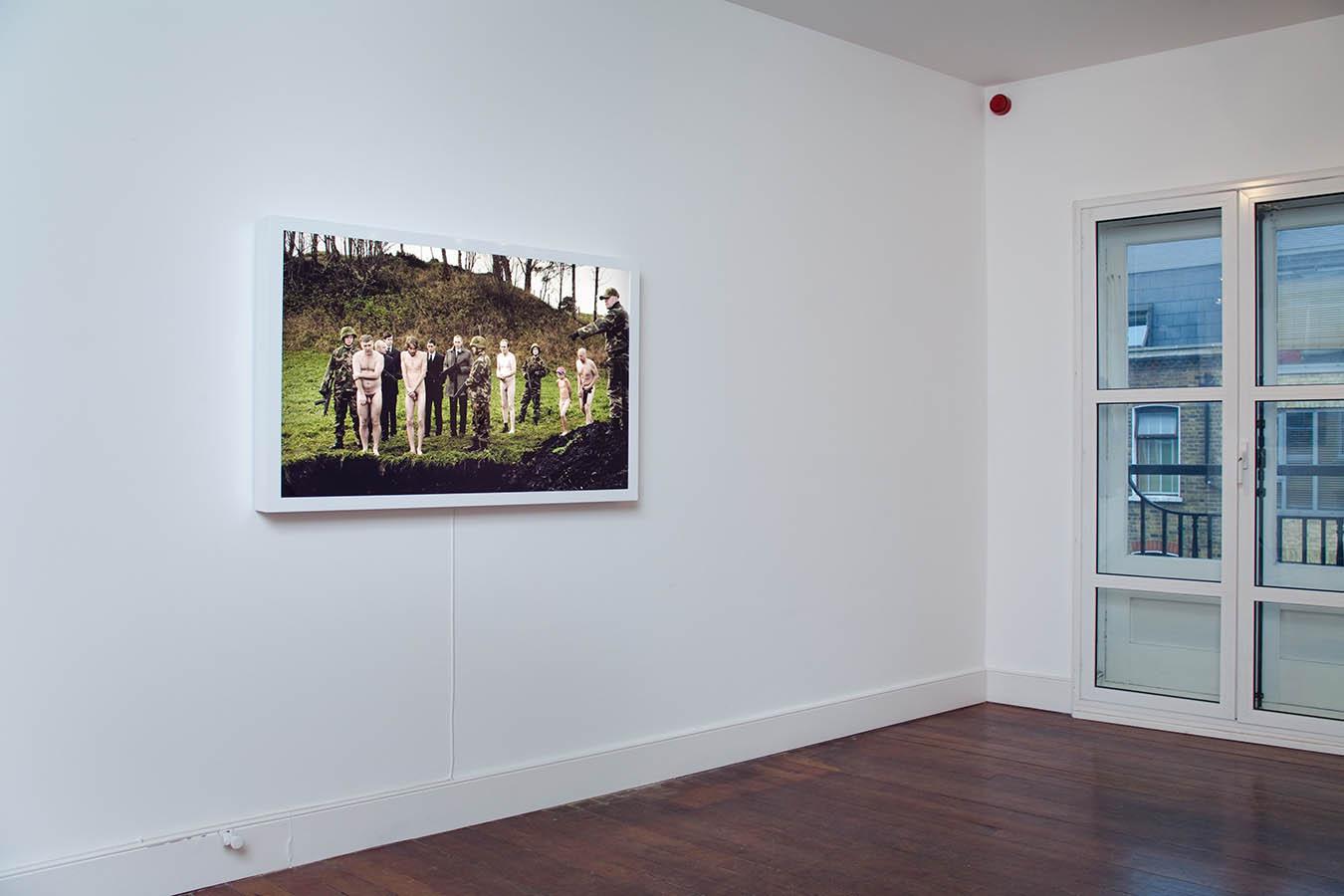 Svein Moxvold work documentation - Charlie Smith Gallery, London